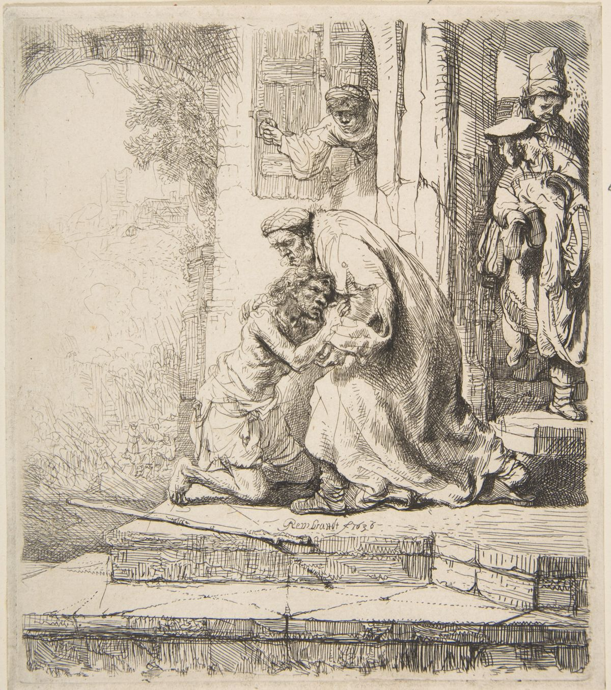 Rembrandt van Rijn.  Return of the Prodigal Son .