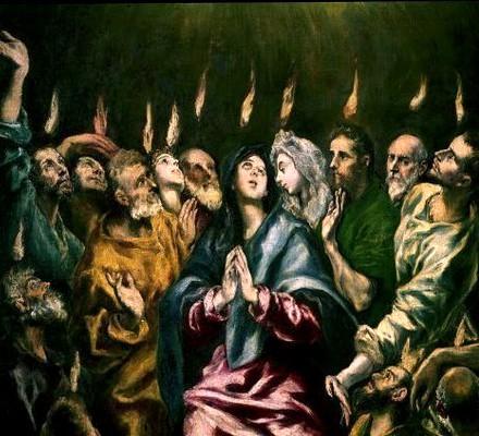 El Greco.  Pentecost .
