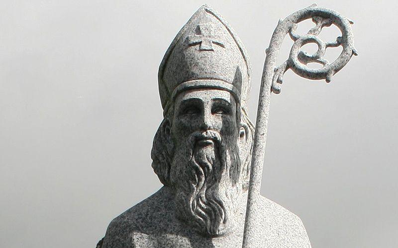 Statue of St Patrick, Co. Mayo. Photo: Andreas F. Borchert | WikiCommons