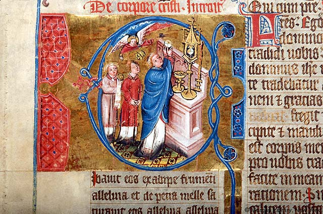 Missal from Hamburg, 14th c.  The Morgan Library and Museum .