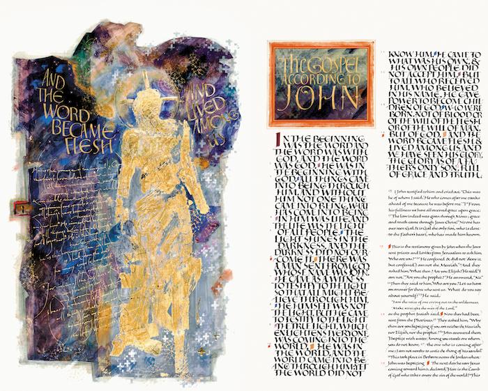 The Saint John's Bible.  Donald Jackson.