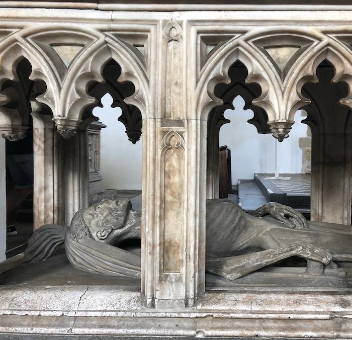Effigy of John FitzAlan, in Fitzalan Chapel, Arundel.