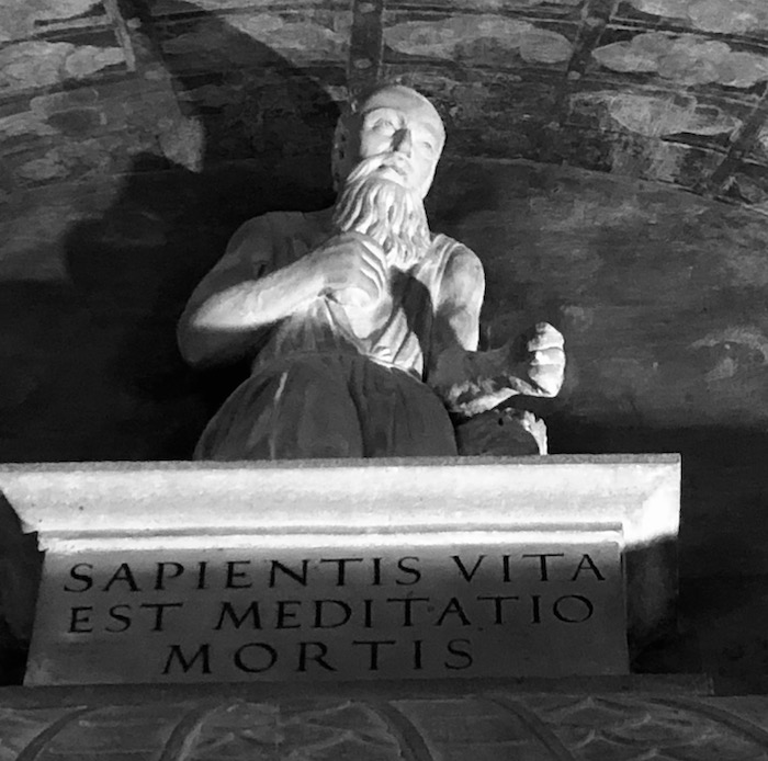From the crypt of San Giovanni, Saluzzo