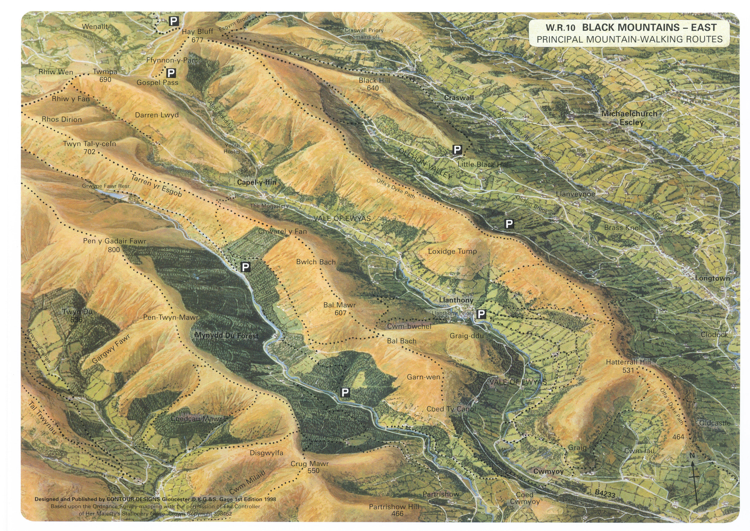 Eastern ridges (click to enlarge)