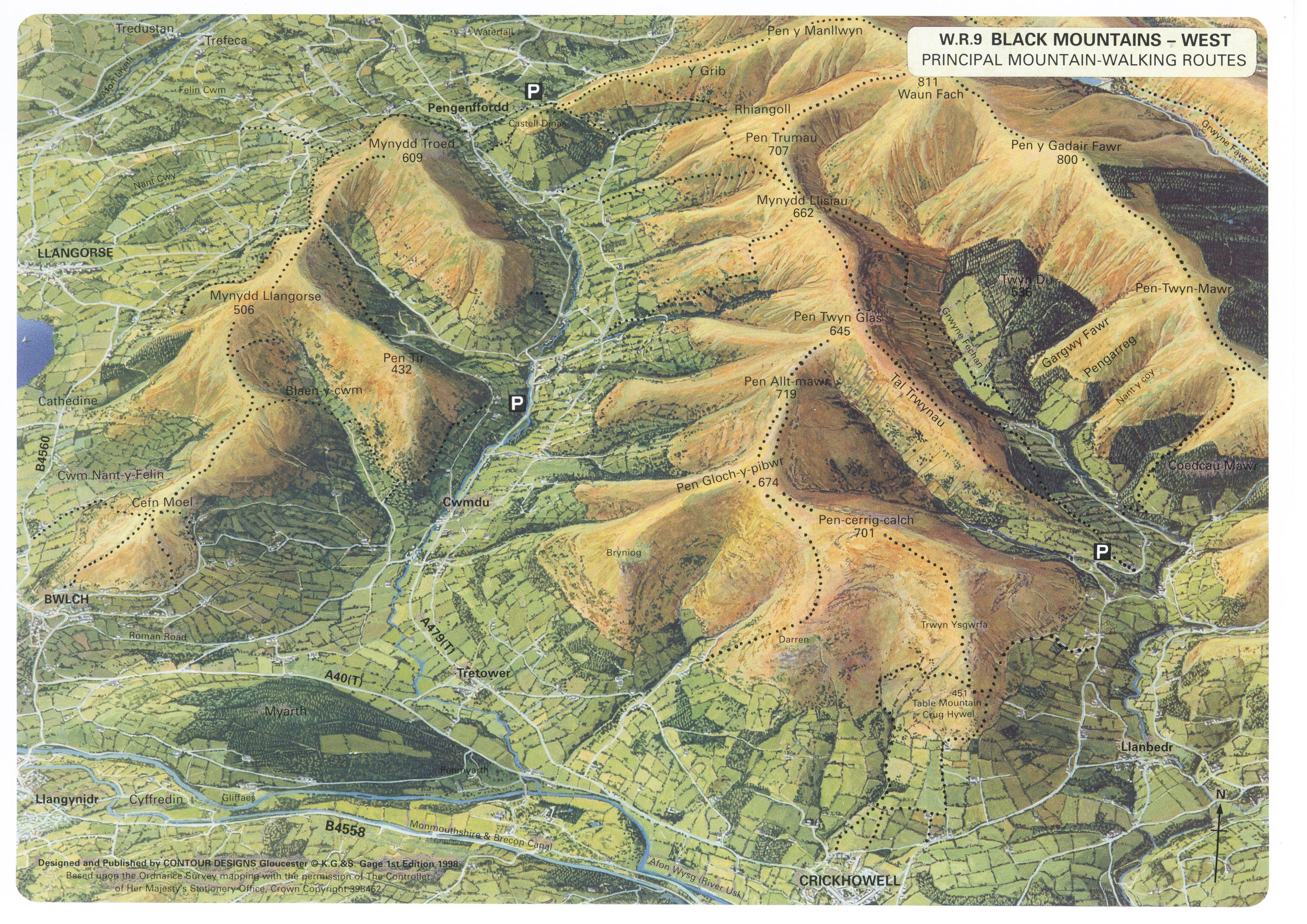 Western ridges (click to enlarge)
