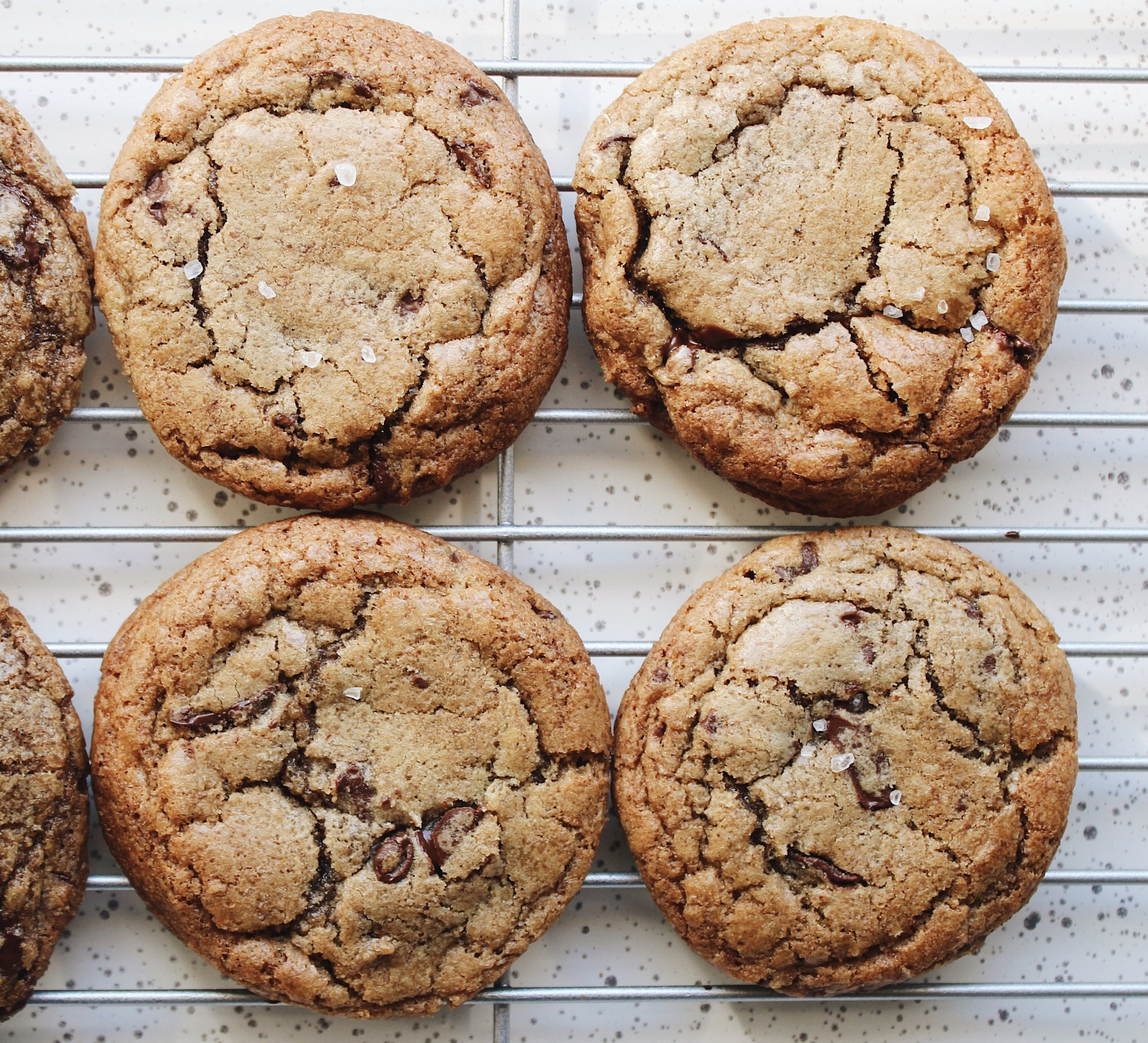 My Portuguese Mother // Brown Butter Chocolate Chip Cookies