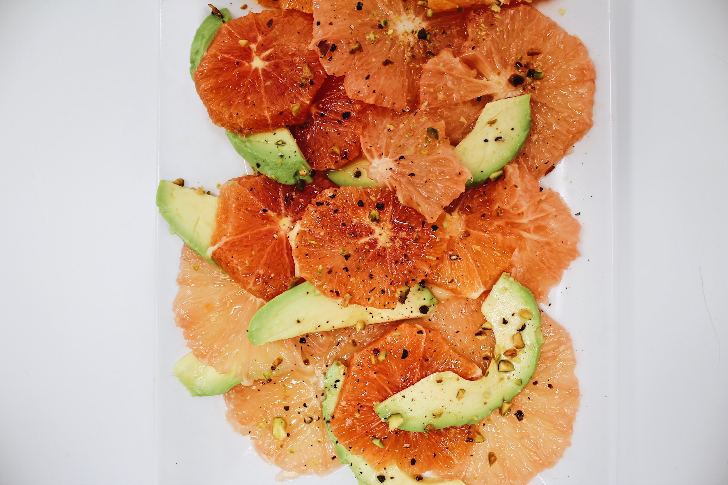 My Portuguese Mother :: Citrus and Avocado Salad.JPG