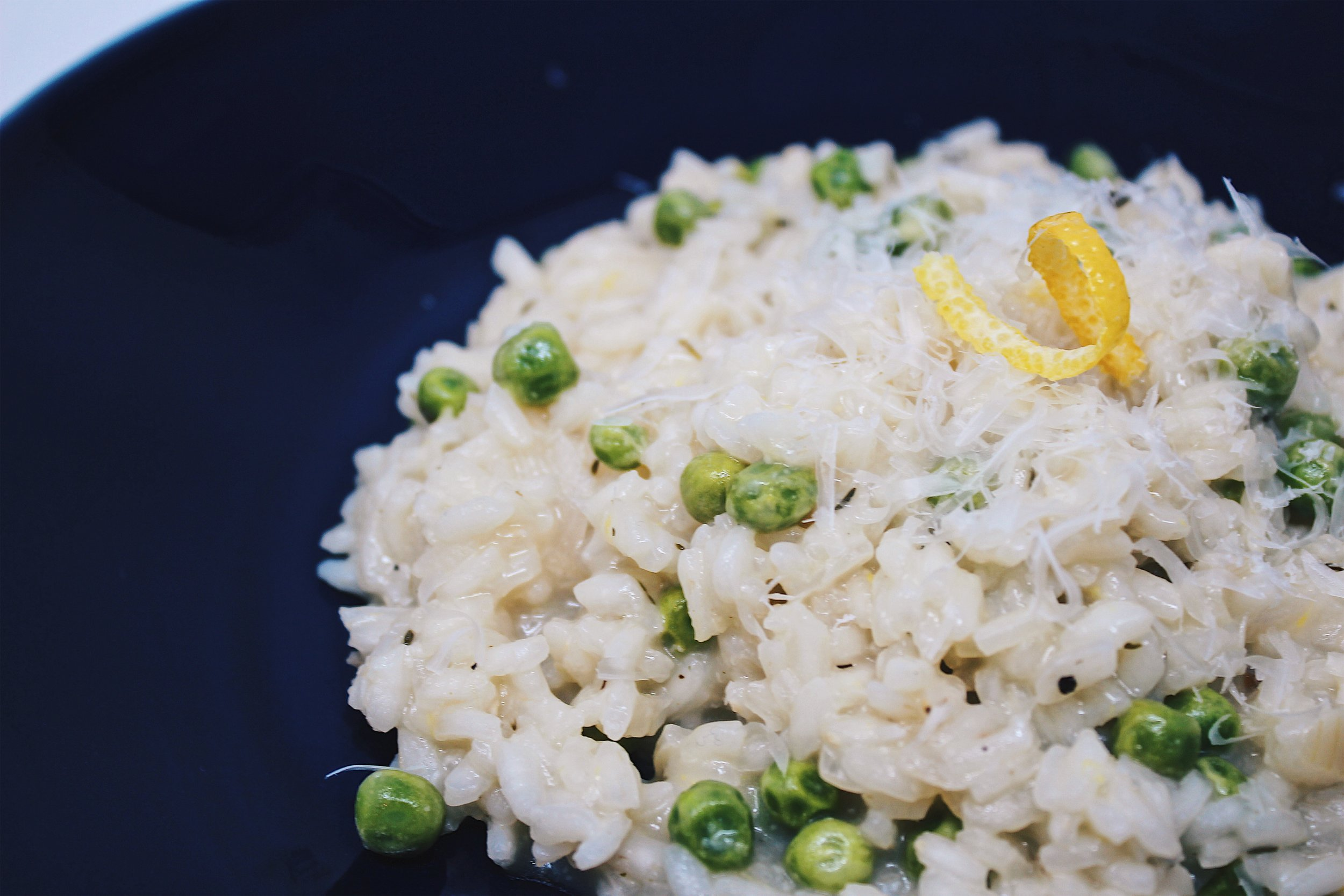 My Portuguese Mother // Lemon Risotto