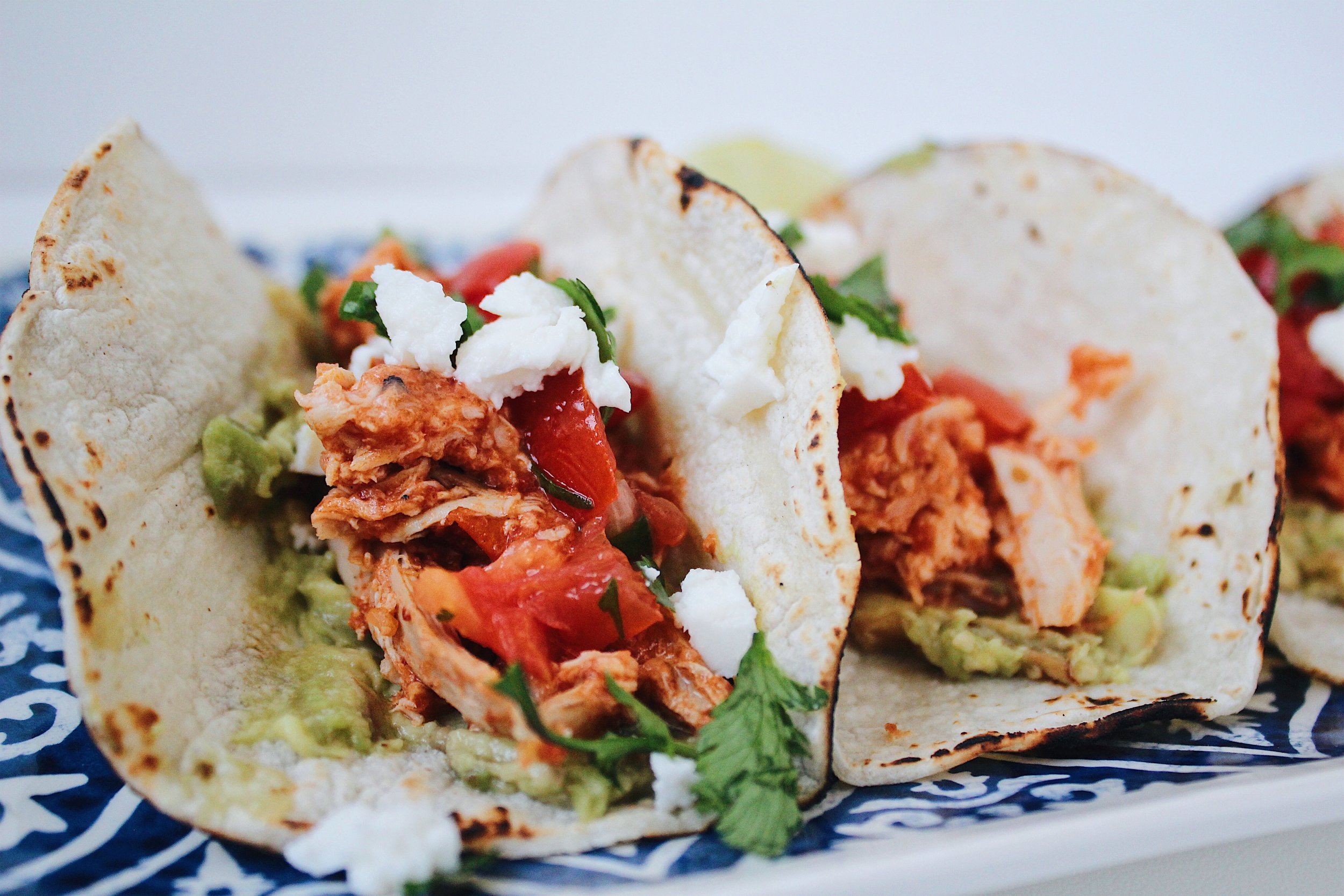 MY Portuguese Mother // Chicken Tinga Tinga Tacos