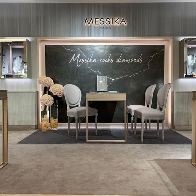Our recently completed @harrods concession of @messikajewelry by our specialist shop fitting team #shopfitting #jewelry #knightsbridge #luxurylifestyle