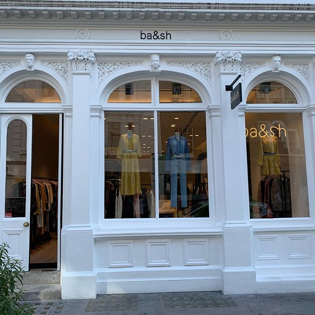 Just finished by MPRM's specialist shop fitting team. New @bashparis flagship store in @coventgardenldn. Look out for our next collaboration coming very soon to kings cross @coaldropsyard #kingstreet #shopfitting #shopfitters #londonfashion #parisianstyle