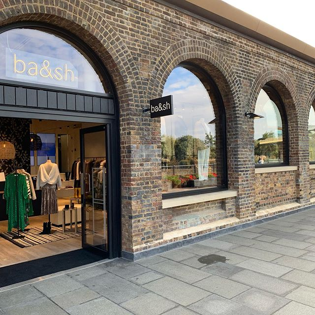 It's here (by here I mean @coaldropsyard )! New @bashparis store fitted out by MPRM's specialist shop fitting team. A combination of stripped out M&E, high vaulted ceilings, carefully respecting the grade 2 listing consents. #parisianstyle #kingscrosslondon #shopfitting #fashion