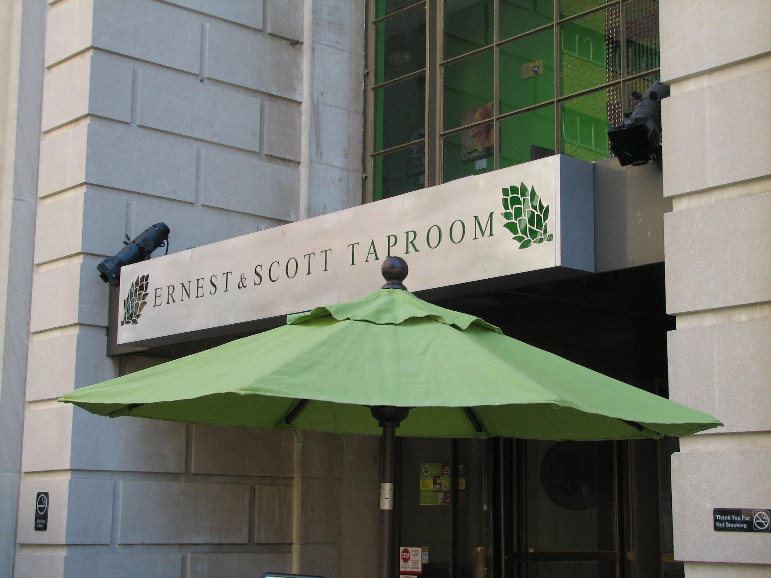 Ernest & Scott Taproom at 902 N. Market Street Wilmington, DE