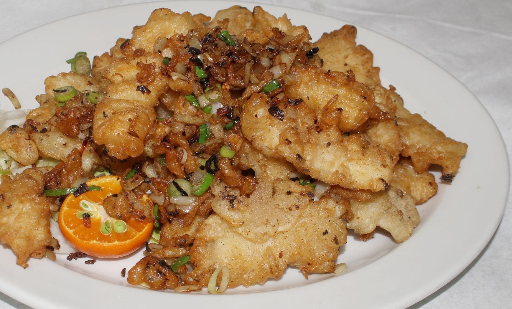 Salt & Pepper Fish