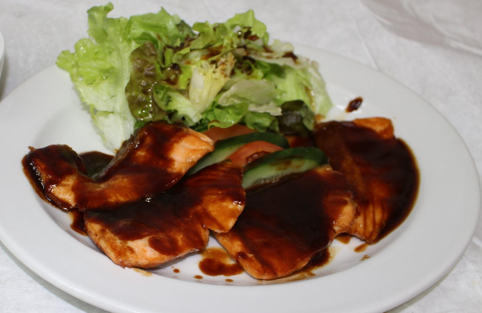 Salmon Dengaku