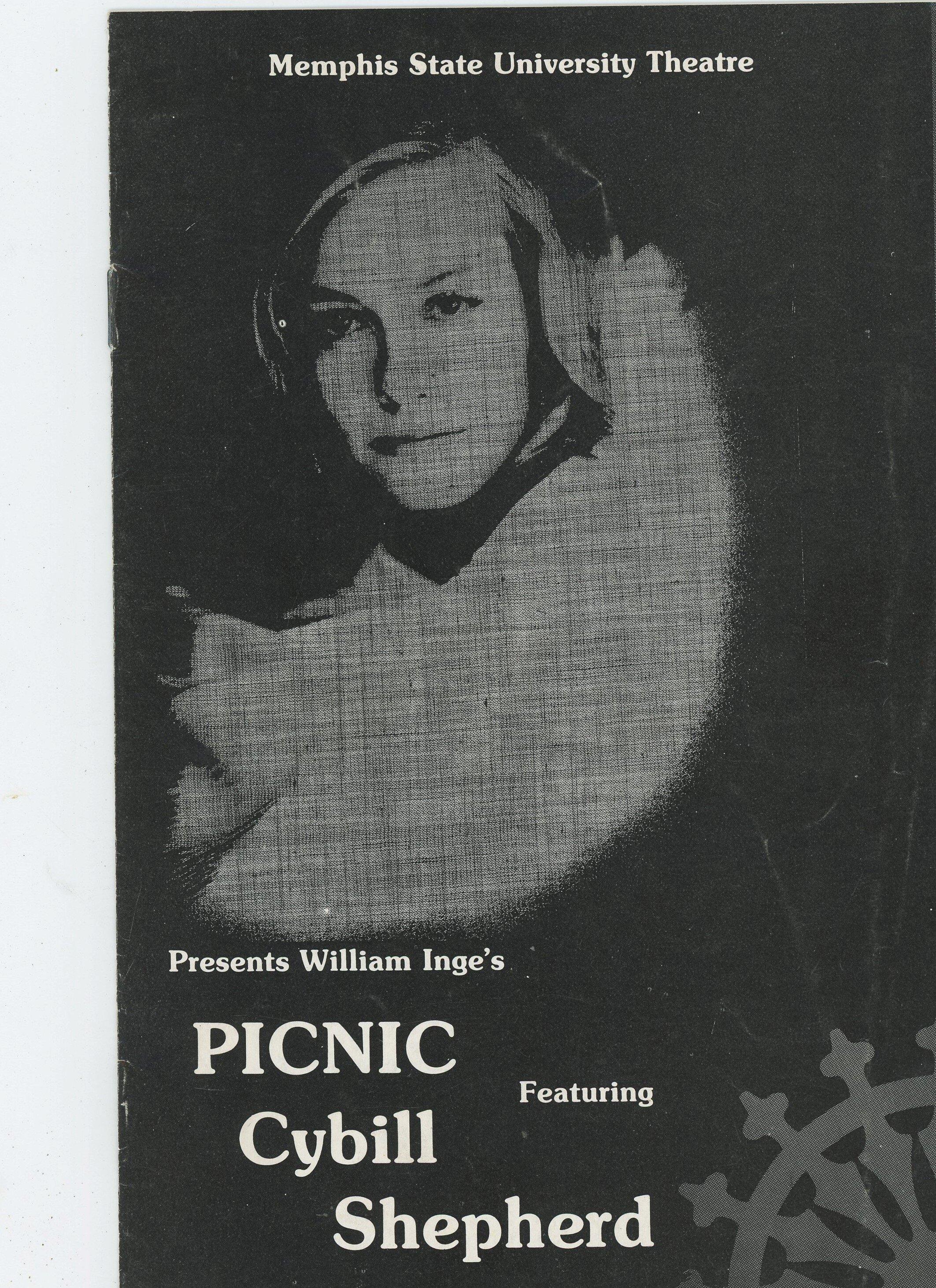 Cybill Shepherd 1980 Picnic -