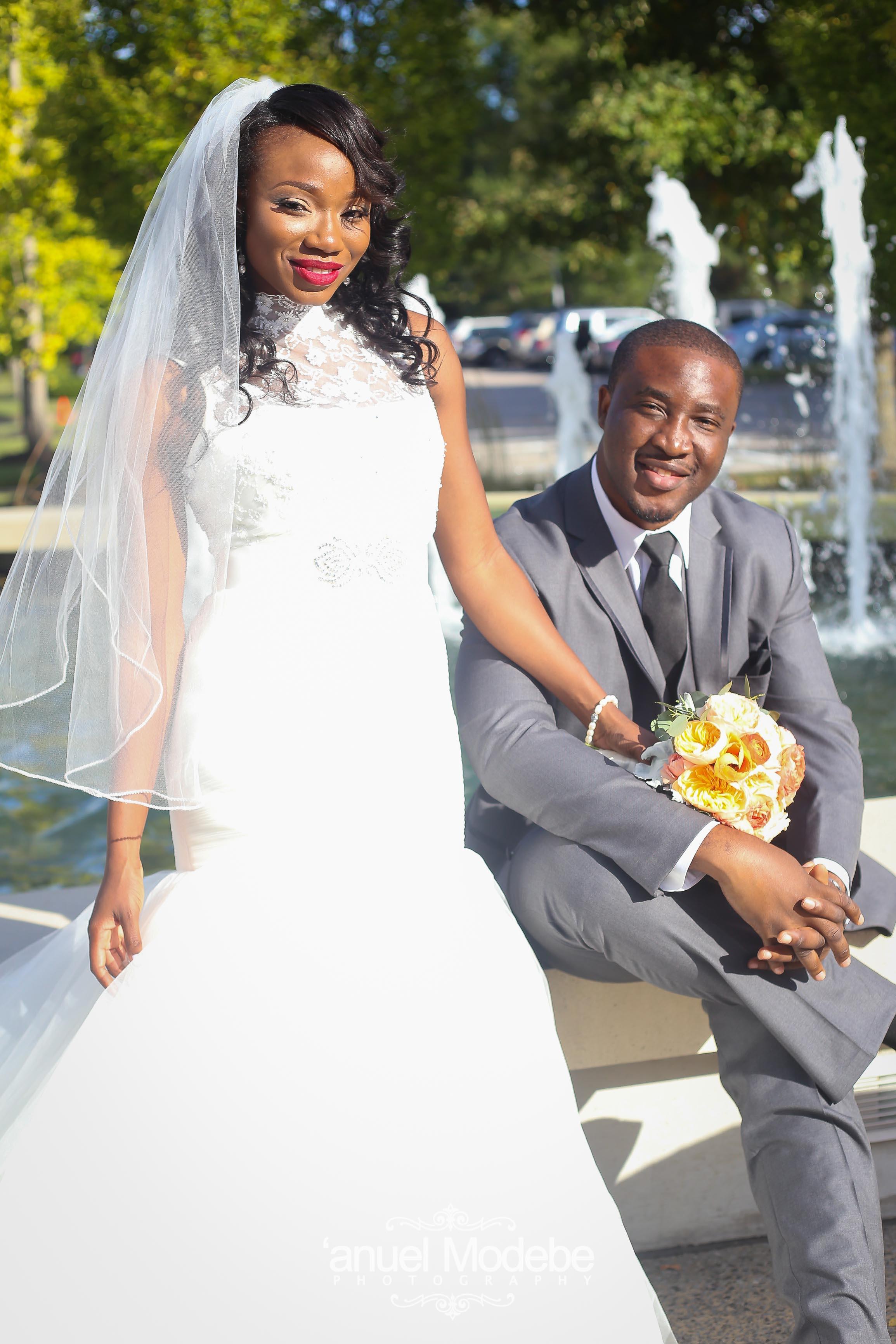 Mr and Mrs Asemota