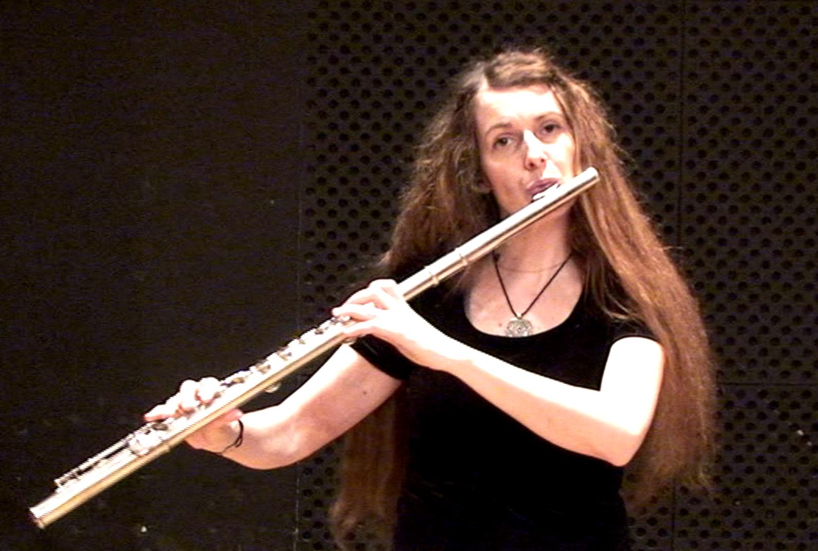Recording session with Cécile Daroux at the Paris Conservatoire, April 2010