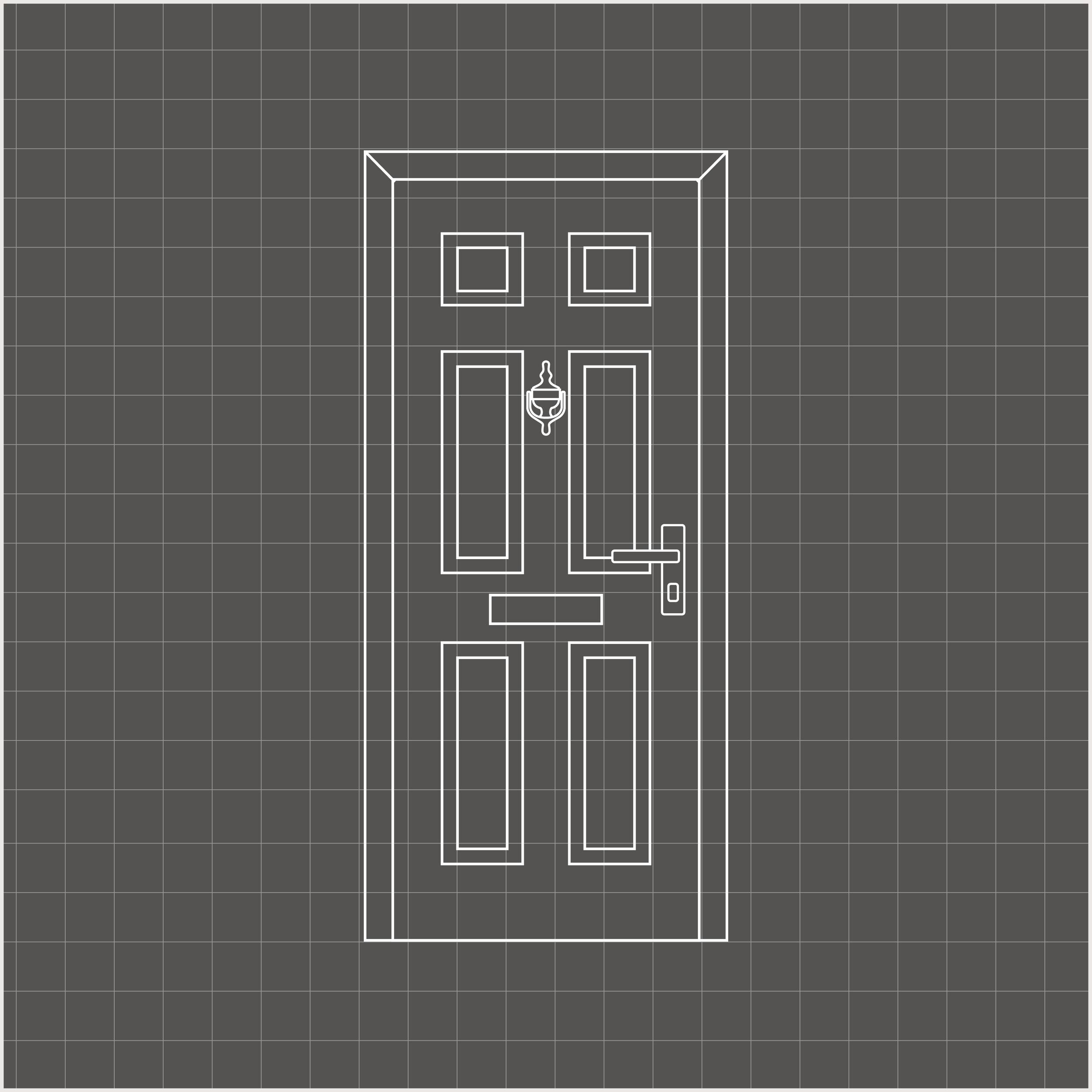 Black Solidor Composite Door with matching composite side panels.