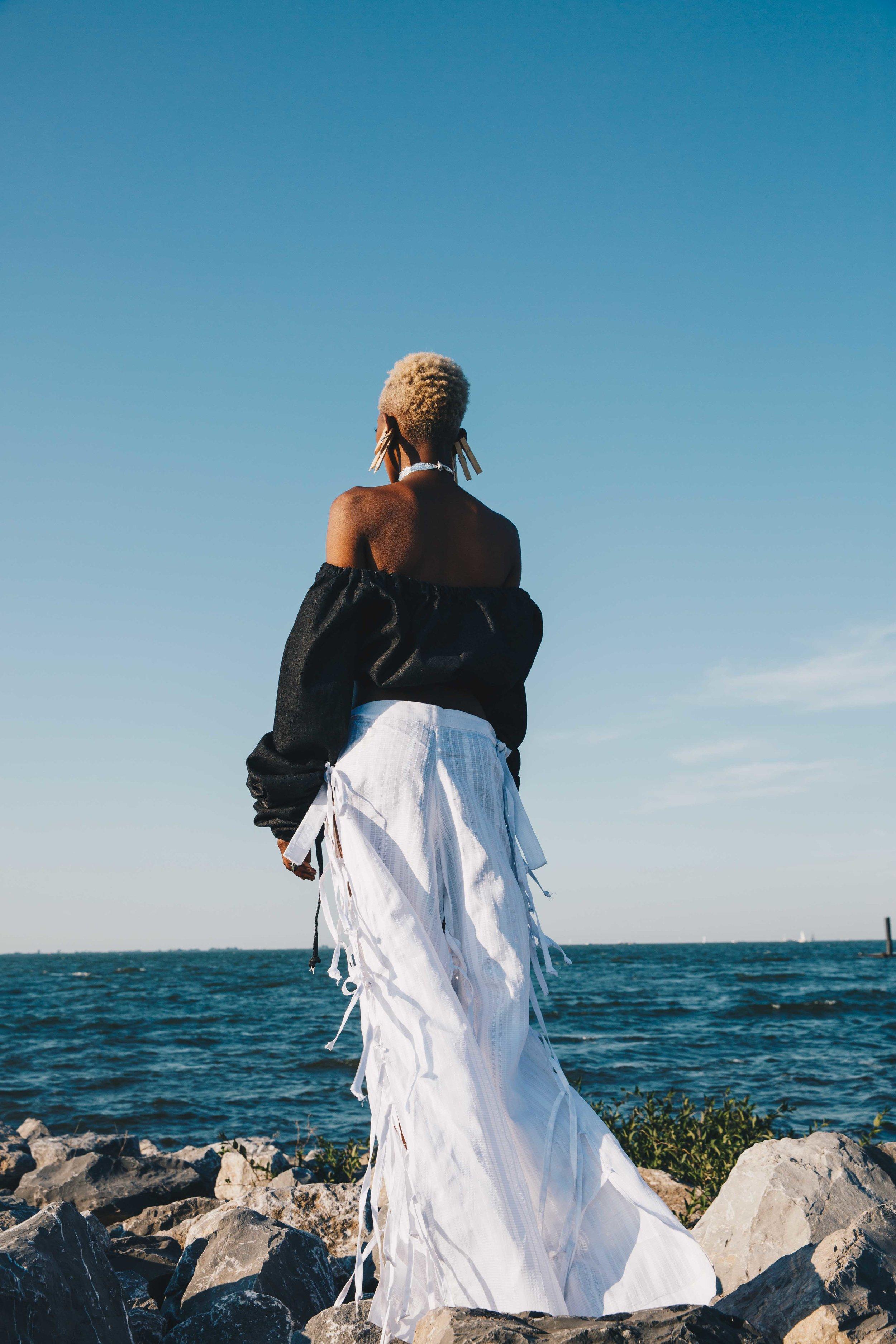 SS18 shoot for Nigerian fashion designer Bubu Ogisi, I.AM.ISIGO