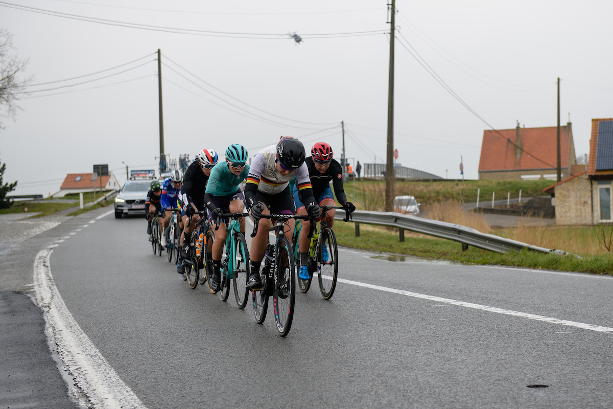 Lisa Klein (GER) at Driedaagse Brugge - De Panne 2018 - a 151.7 km road race from Brugge to De Panne on March 22, 2018. Photo by Sean Robinson/Velofocus.com