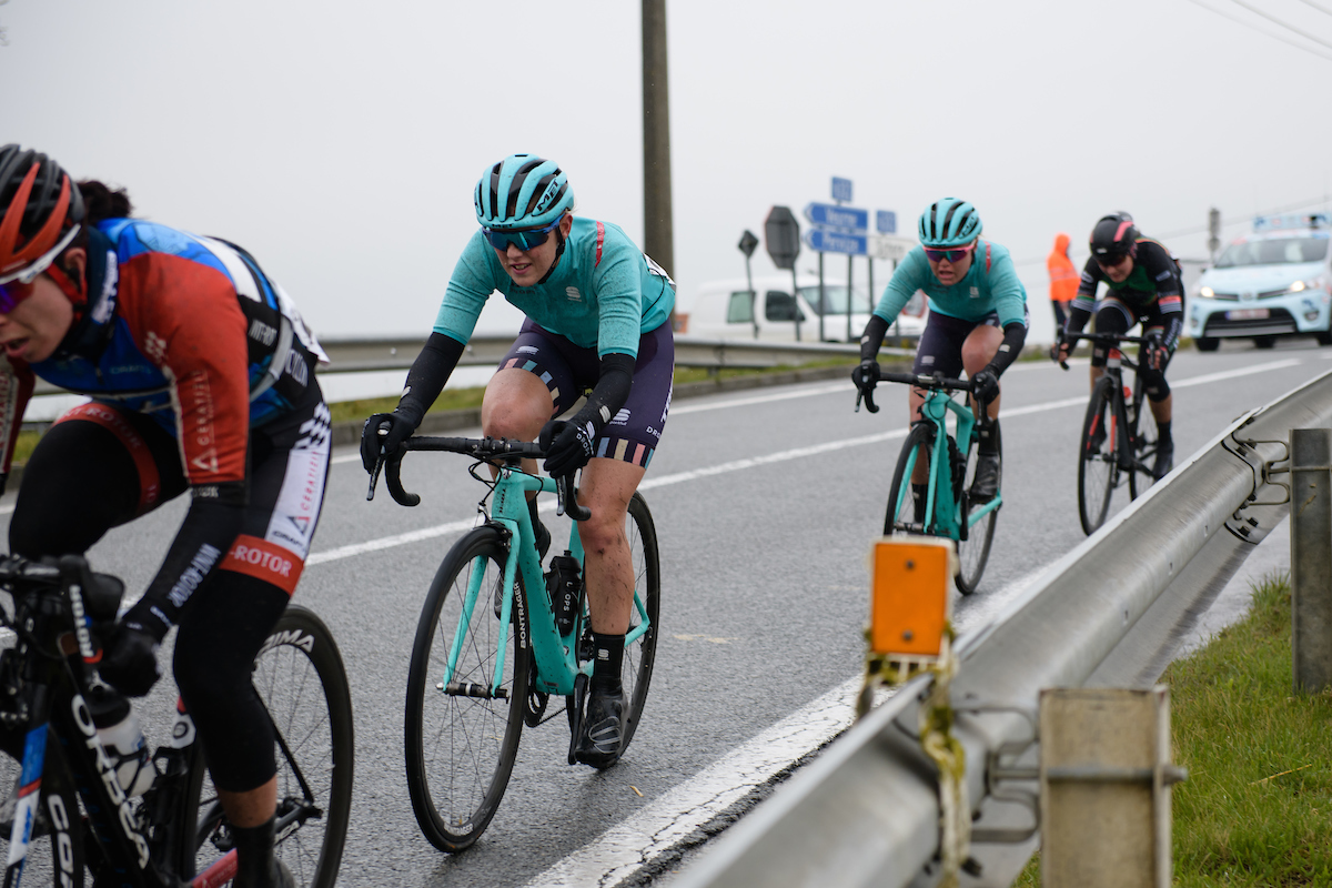 Lizzie Holden (GBR) at Driedaagse Brugge - De Panne 2018 - a 151.7 km road race from Brugge to De Panne on March 22, 2018. Photo by Sean Robinson/Velofocus.com