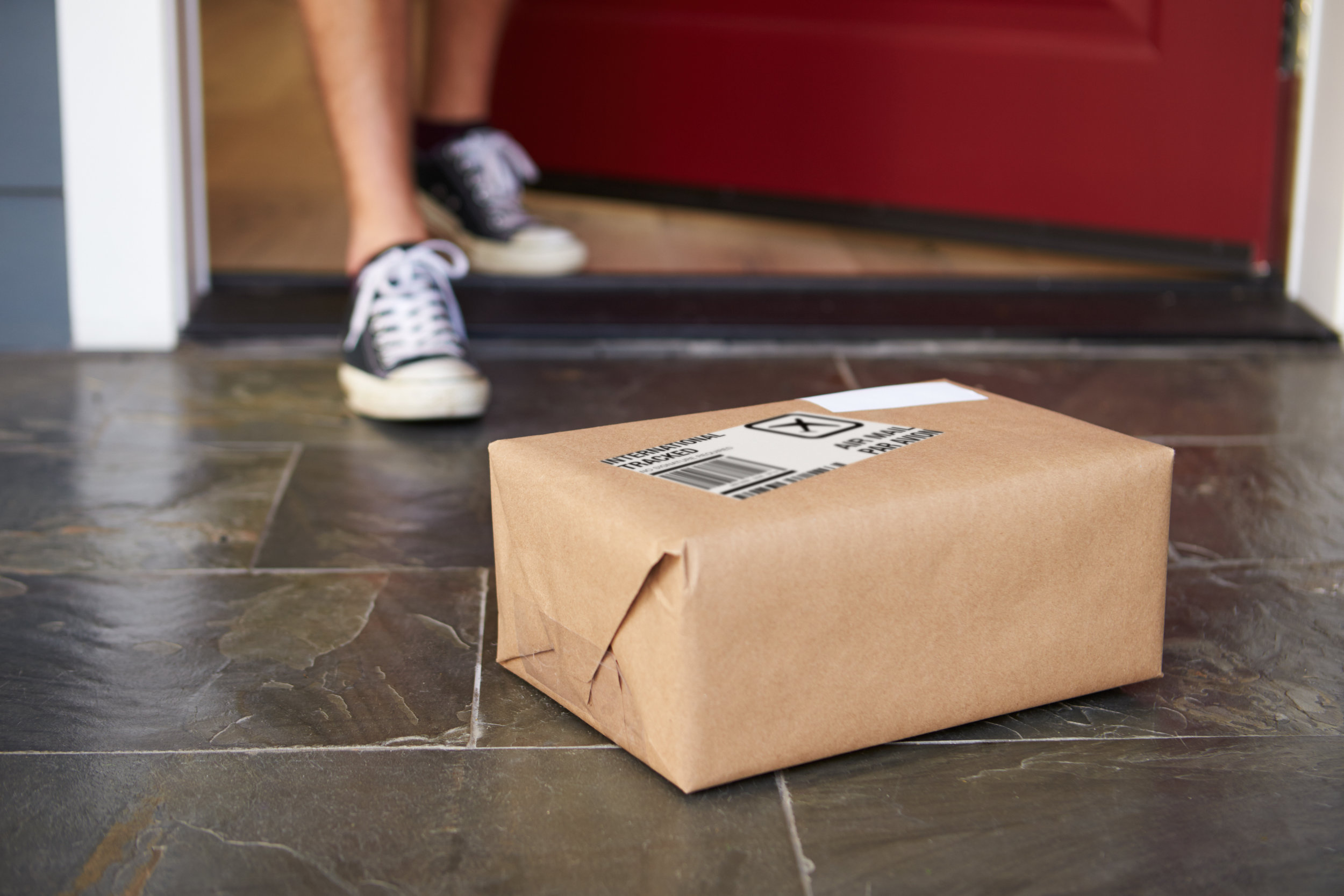 3. Your package is delivered discreetly to your doorstep. -