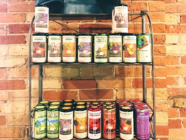 A new batch of teas just came in! New flavors and classics!  Come in for a hot cup of tea or a pot! Take your favorite flavor home.