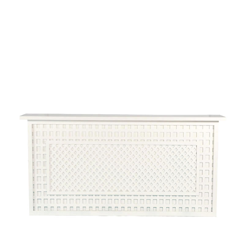 """GRACIE BAR FACADE   8'l x 44""""h x 15"""" top with 16"""" side returns"""
