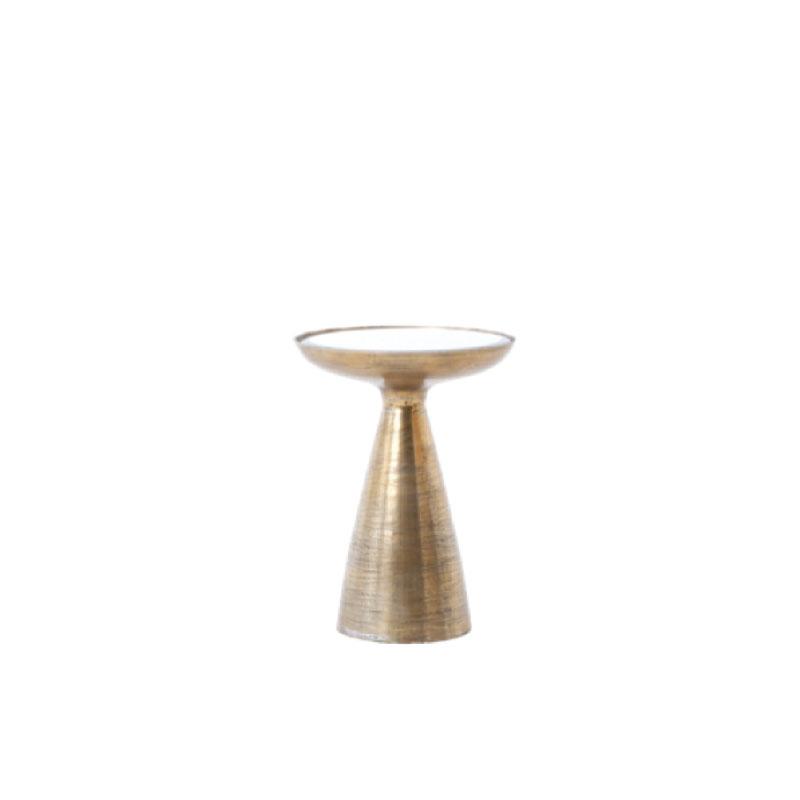 """BENNETT SIDE TABLE   16"""" diameter x 22""""h"""