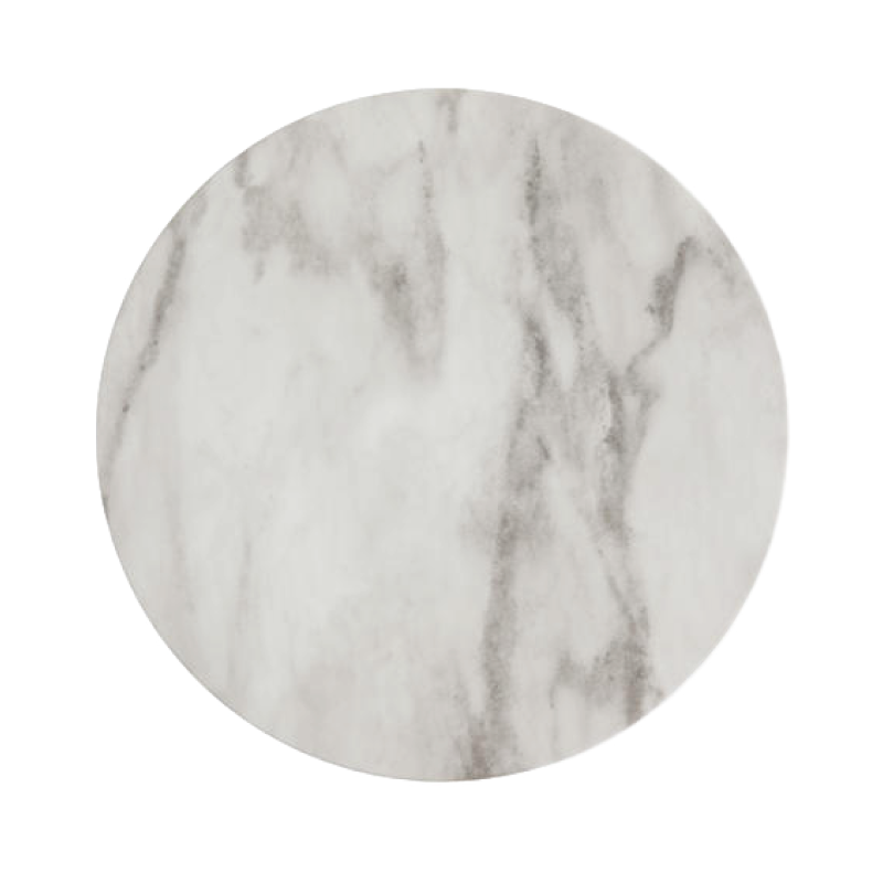 "MARBLE MELAMINE CHARGER   available in: Charger Plate (13"")"