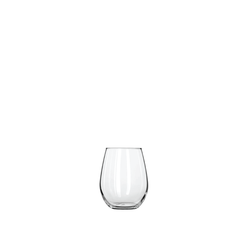 CLASSIC STEMLESS SMALL WINE GLASS   available in: 11.75 ounces