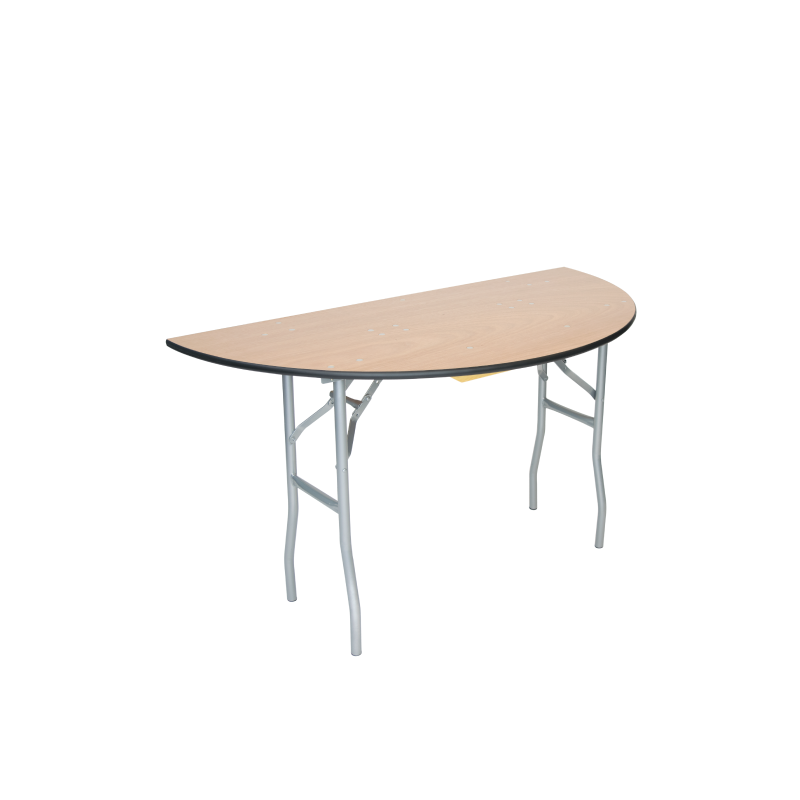 """HALF ROUND TABLE   available in:60"""""""