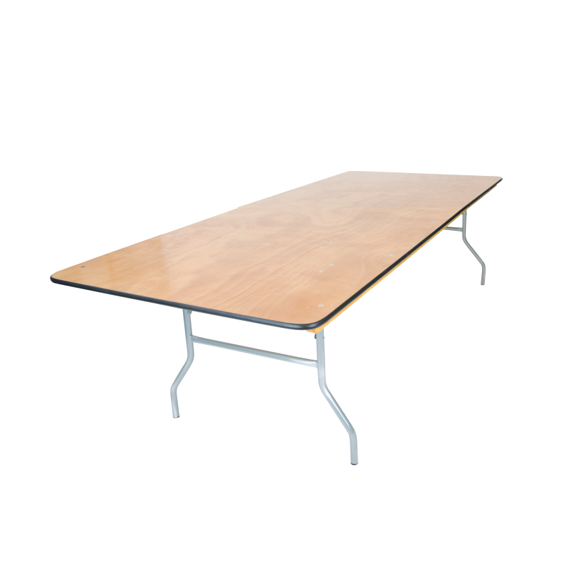ESTATE TABLE   available in: 4' x 8'