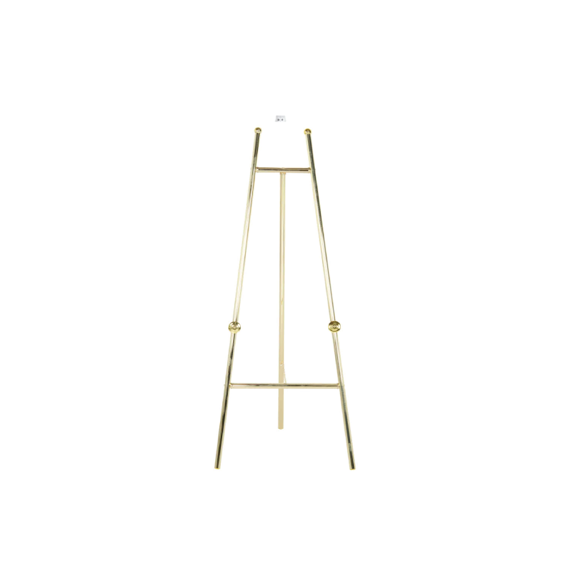 "BRASS TRIPOD EASEL   available in: 24"" x 60"""