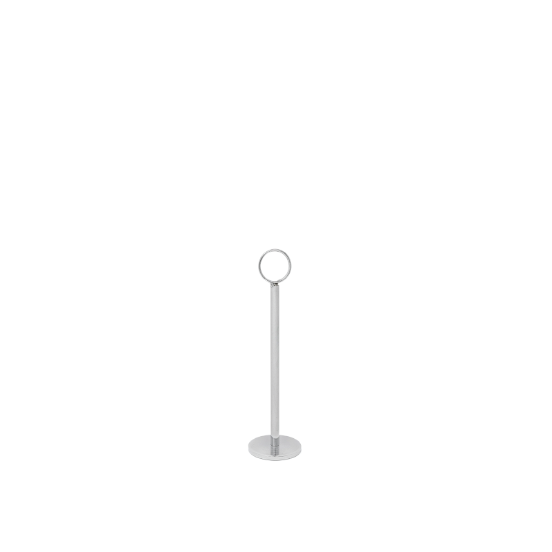 CHROME TABLE NUMBER STAND   available in: 12""