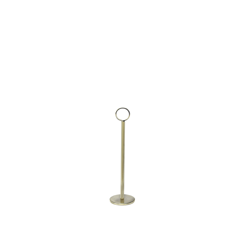 GOLD TABLE NUMBER STAND   available in: 12""