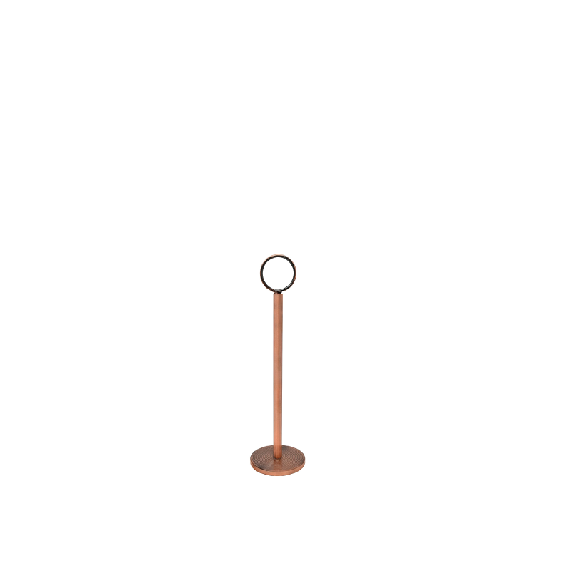 COPPER TABLE NUMBER STAND   available in: 12""
