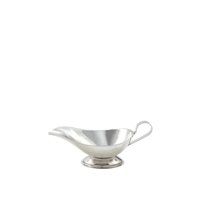 STAINLESS STEEL GRAVY BOAT   available in: 10 ounce