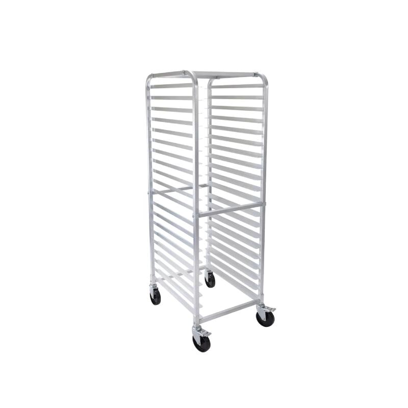 ALUMINUM SPEED RACK   available in: 20 tray capacity