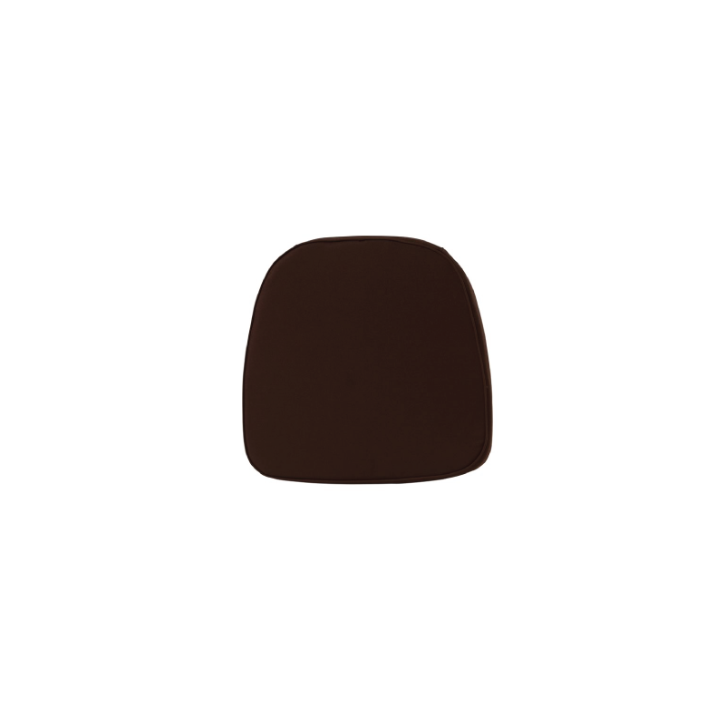 CHOCOLATE BROWN CHIAVARI CUSHION