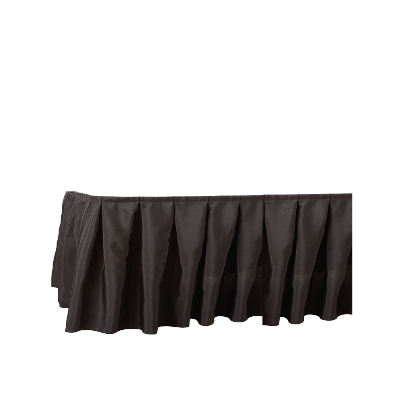 """BLACK SKIRTING   available in: 29""""x17', 29""""x21', 47""""x7', 47""""x9', 47""""x17', 47""""x21'"""
