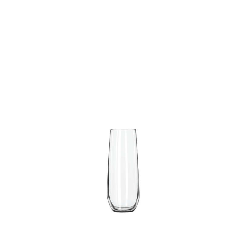CLASSIC STEMLESS CHAMPAGNE WINE GLASS   available in: 8.5 ounces
