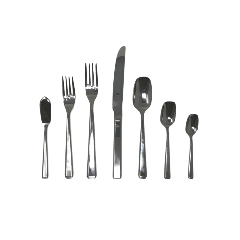 MOD FLATWARE   available in: Butter Knife, Salad Fork , Dinner Fork, Dinner Knife, Table/Soup Spoon, Teaspoon, Demitasse Spoon