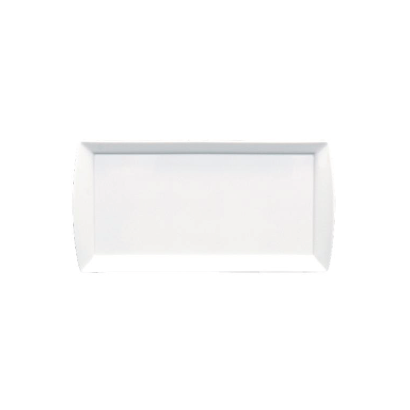 "RECTANGULAR PLATE (WITH HANDLES)   available in: 11.75"" x 5.75"""
