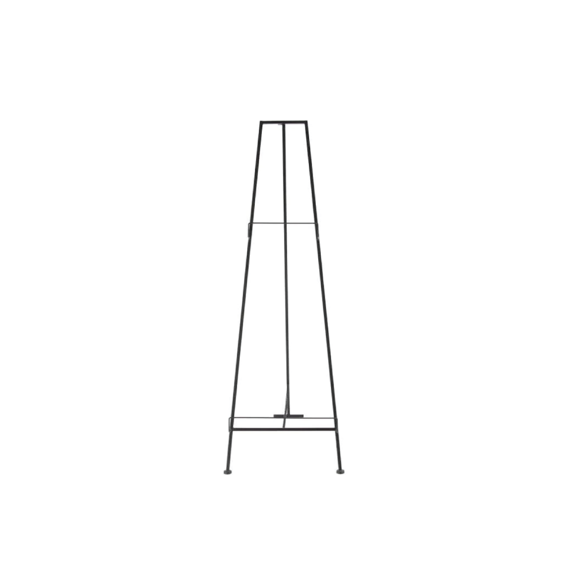 "IRON TRIPOD EASEL   available in: 25"" x 59"""