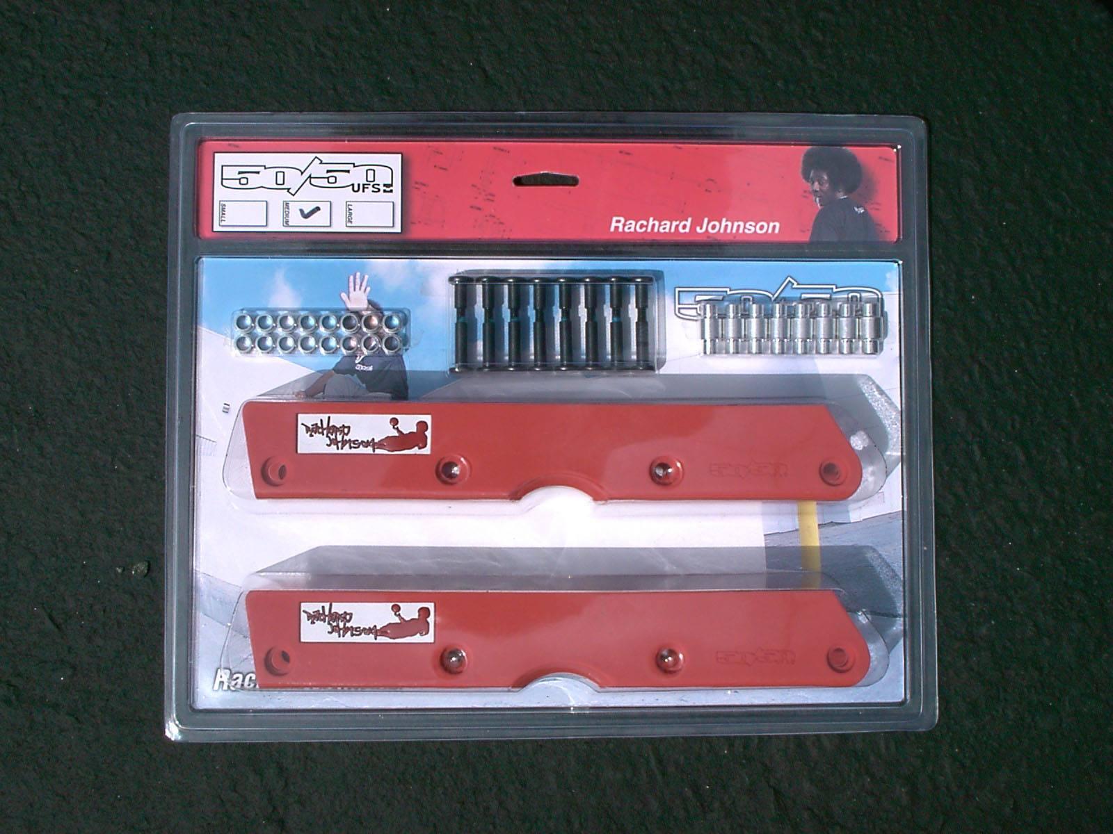 Rachard Johnson's Pro Model 50/50 UFS frame packaging.