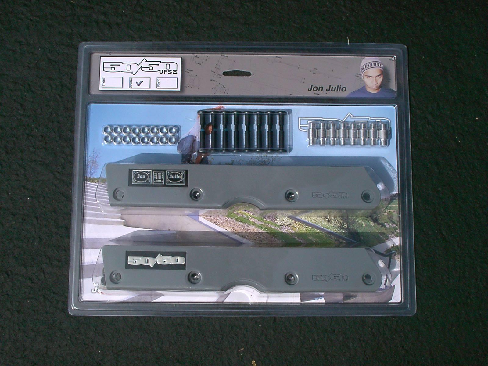 Jon Julio's series 2 50/50 UFS frame in packaging.