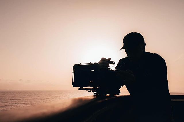 And that's a wrap! We've spent the past 5 days roaming the beautiful island of Madeira for @visitmadeira. 🎥  Here's our director, Steve, shooting a sunset bangers on set over the weekend. Now time for the edit...