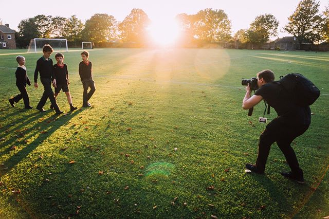 #Throwback to capturing the stunning sunrise in Broadstairs, Kent ☀️ Some very exciting projects underway with Wellesley School 🎥 📷